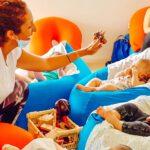 ענבל לתנועה   ליווי התפתחותי: רעיונות למשפקים עם תינוקות